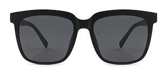 8838 Joelle Rectangle black glasses