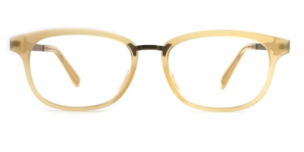 8870 Celeste Rectangle yellow glasses