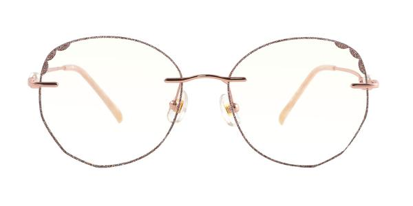 88831 Janice Oval gold glasses
