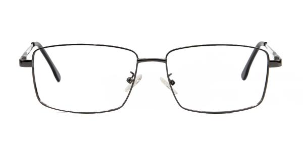 8892 Powell Rectangle grey glasses