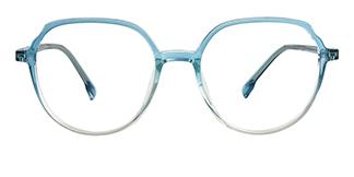 8897 Anitra Geometric pink glasses