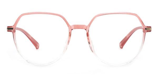 8912 Marcia Geometric blue glasses