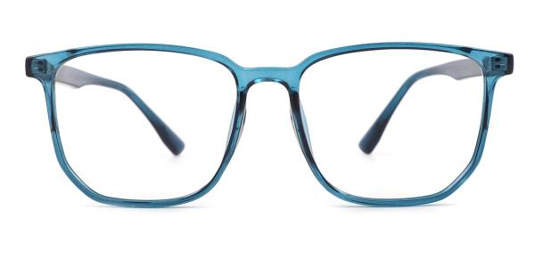 8991 Angie Rectangle blue glasses