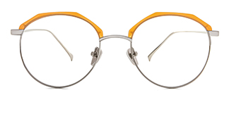 90091 Amabelle Oval yellow glasses