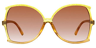 9011 Rosemary Geometric,Butterfly yellow glasses
