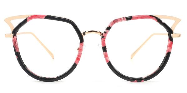 9016 Elma Cateye floral glasses