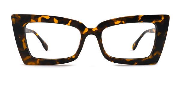 9019 Carola Cateye tortoiseshell glasses