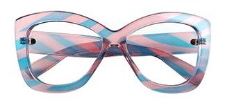 9022 Odalis Cateye multicolor glasses