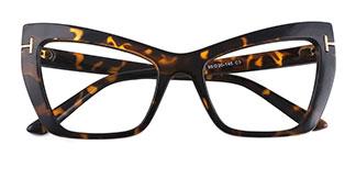 9024 Virginia Butterfly tortoiseshell glasses