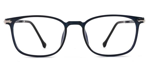 90301 Octavia Rectangle blue glasses