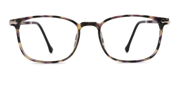 90301 Octavia Rectangle tortoiseshell glasses