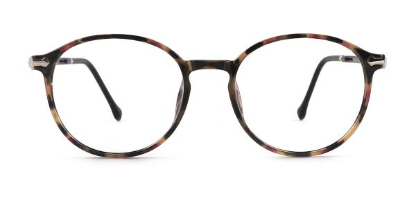 9033 Odalys Round tortoiseshell glasses
