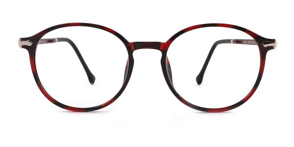 9033 Odalys Oval red glasses