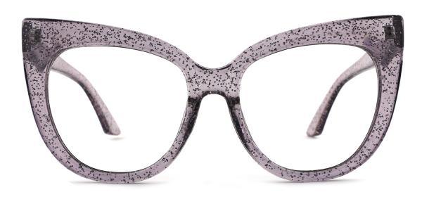 90377 Lola Cateye purple glasses