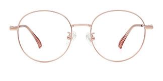 9053 Henderson Round gold glasses