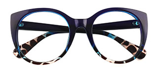 9080 Chauncey Oval blue glasses