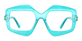 9096 Katie  green glasses