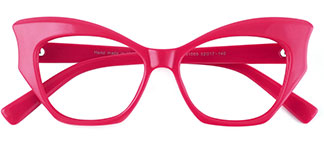 91005 Anika Butterfly blue glasses