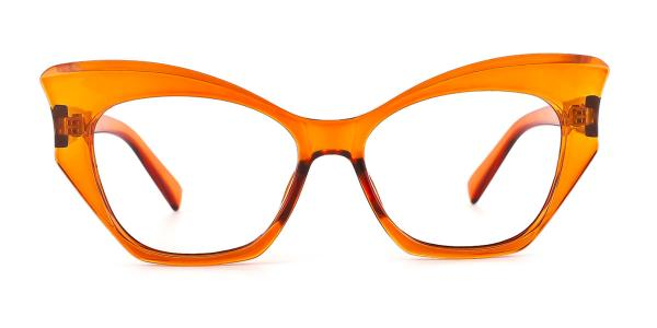 91005 Anika Butterfly orange glasses
