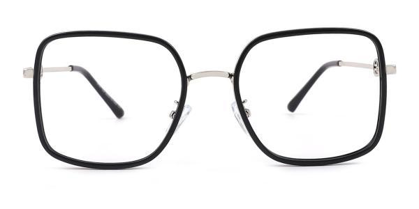 91011 Canace Rectangle black glasses