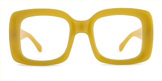 9105 Dalila Rectangle yellow glasses