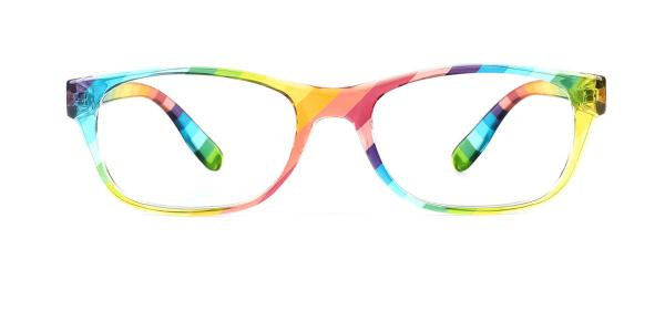 9122 Xaviera Rectangle multicolor glasses