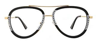 91291 Bjorn Aviator white glasses