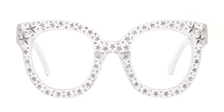 9136 Starry Oval clear glasses