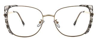 91511 Bobbye Cateye grey glasses