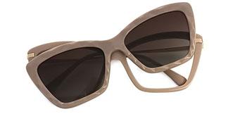 91515 Chandra Cateye pink glasses