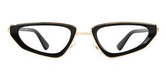 918430 Adrianna Cateye black glasses