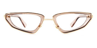 918430 Adrianna Cateye brown glasses