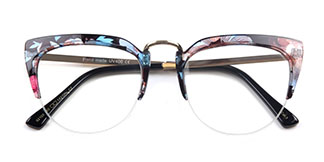 92108 Irit Oval tortoiseshell glasses