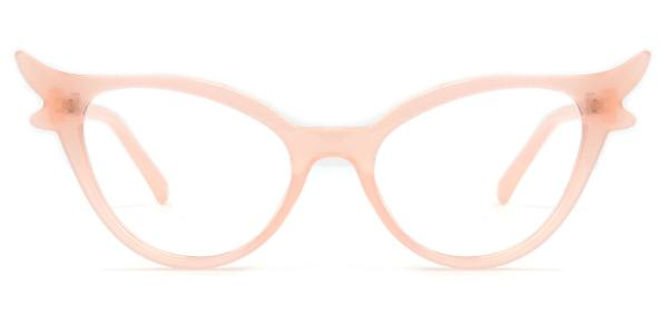 92136 Fawn Cateye pink glasses