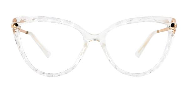 92302 Blossom Cateye clear glasses