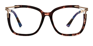 92319 Antonetta Rectangle tortoiseshell glasses