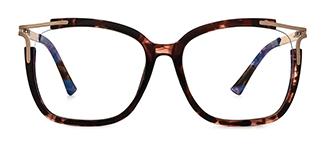 92319 Antonetta Rectangle tortoiseshell glasses