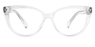 92372 Ami Cateye clear glasses