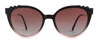92511 Delphine Cateye purple glasses