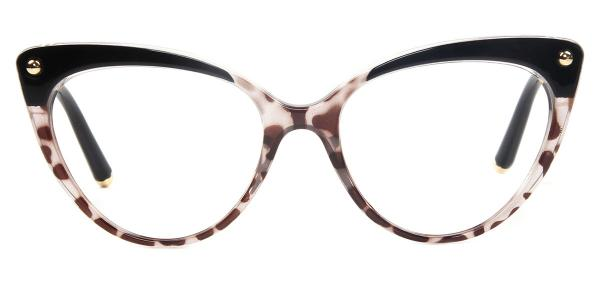 93308 Sims Cateye brown glasses
