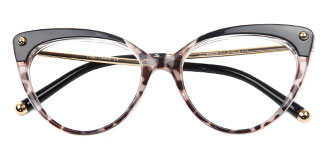 93308 Sims Cateye floral glasses