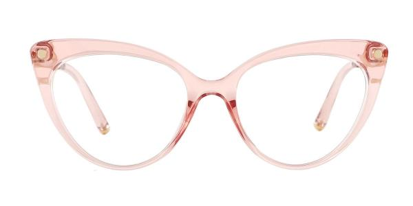 93308 Sims Cateye pink glasses