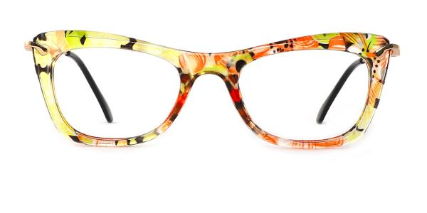 9331 SIENNA Rectangle green glasses