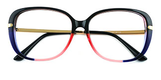 93312 Tatum Oval multicolor glasses