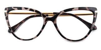 93335 Janice Cateye tortoiseshell glasses