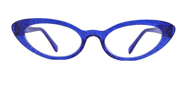 93359 Ida Cateye blue glasses