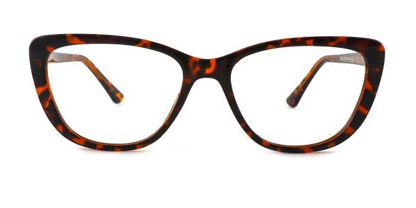 93363 Leona Cateye tortoiseshell glasses