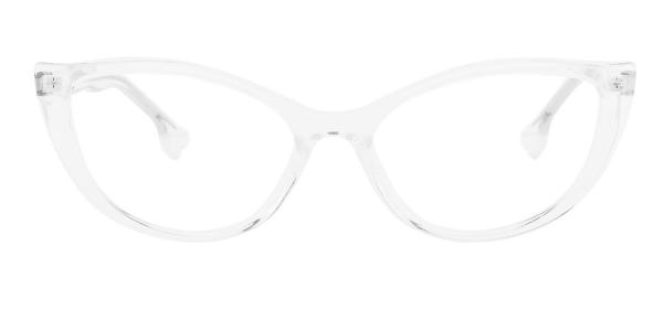 93366 nehemiah Cateye clear glasses