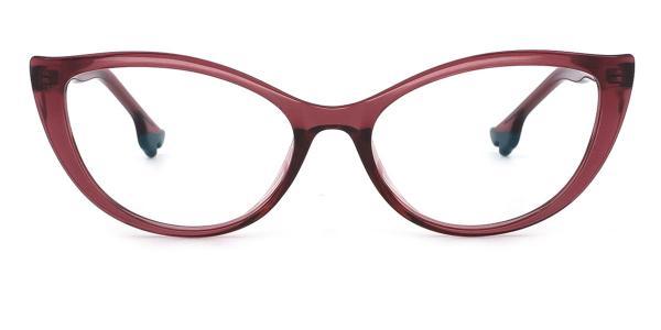 93366 nehemiah Cateye red glasses