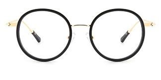 94524 Idalia Oval black glasses